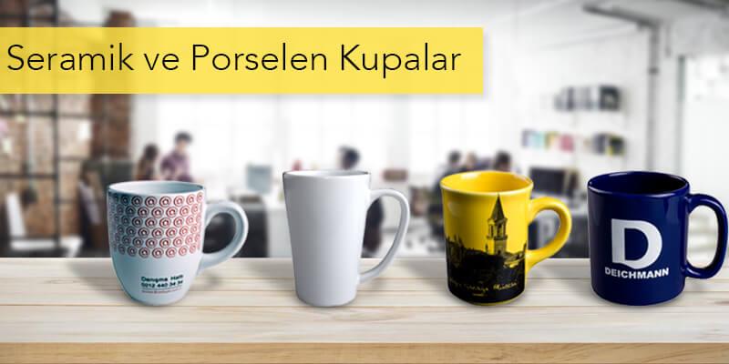 Promosyon Seramik ve Porselen Kupalar